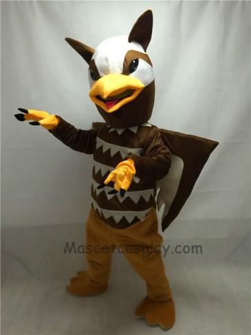 Fierce Brown Griffin Mascot Costume