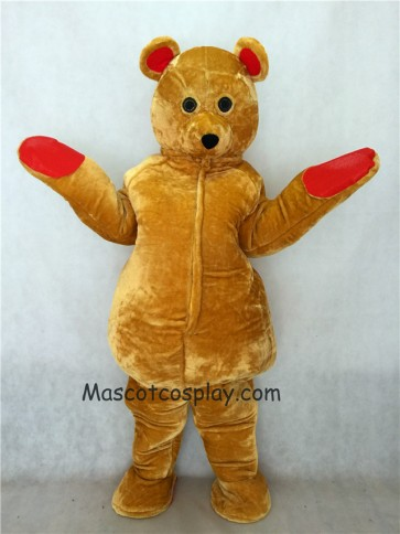 Brown Teddy Ted Bear Mascot Costume