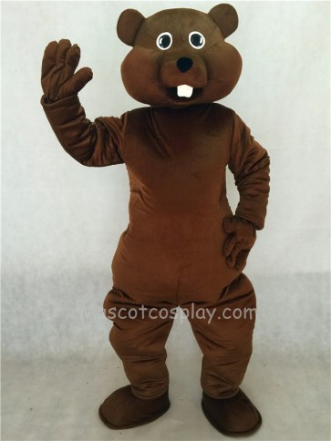 Brown Nutty Squirrel Mascot Costume