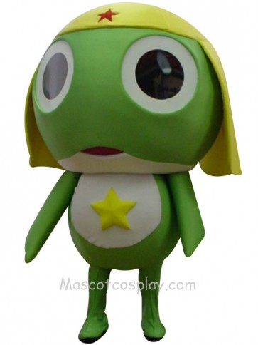 Keroro Gunso Frog Mascot Character Costume Fancy Dress Outfit