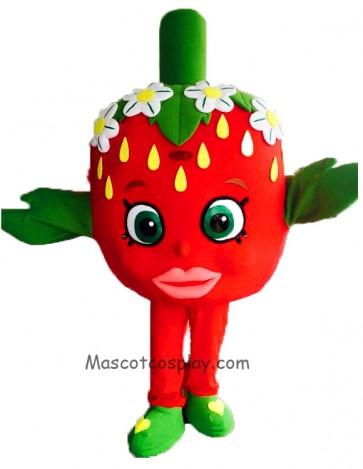 Shopkins Strawberry Kiss Classic Halloween Mascot Costume