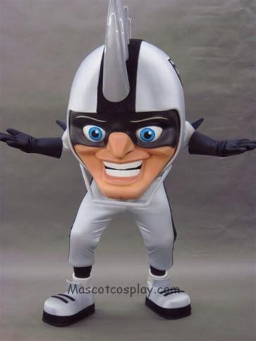 Strange New Oakland Raiders Rusher Mascot Costume