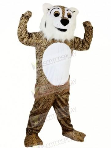 Strong Fierce Leopard Mascot Costumes Animal