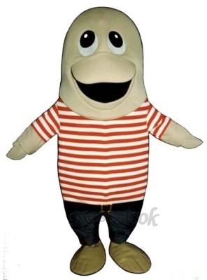 Cute Flounder Mascot Costume