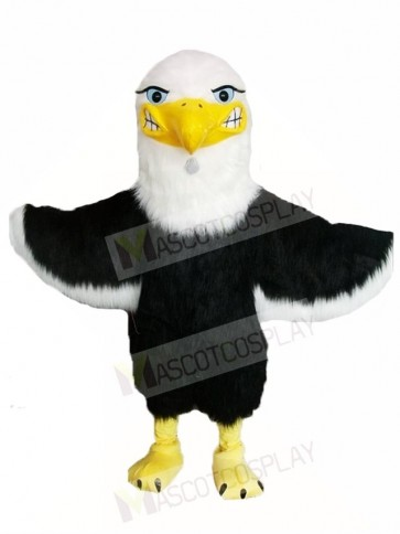 White Head Bald Eagle Falcon Mascot Costumes Animal