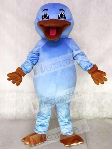Cute Light Blue Platypus Mascot Costumes Animal