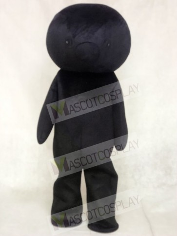 Black Bear Mascot Costumes No Ear