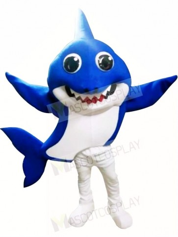 PinkFong Blue Daddy Baby Shark Mascot Costumes Sea Ocean Cartoon