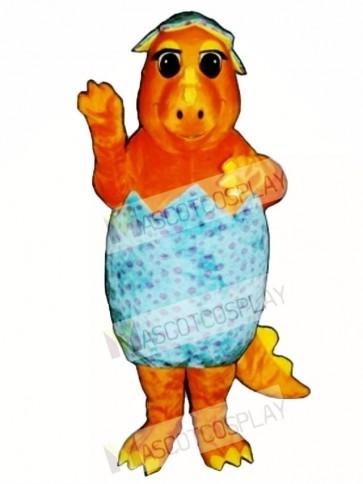 Hatching Baby-Saurus Mascot Costume