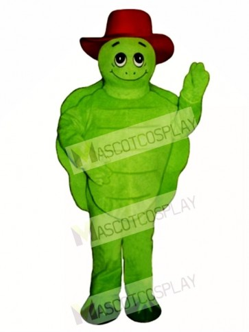 Tommy Turtle Tortoise with Hat Mascot Costume