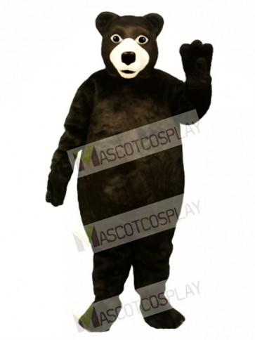 Fat Brown Bear Mascot Costume