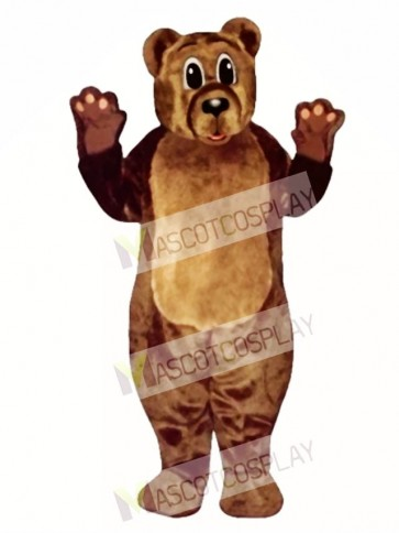 Baby Bear Christmas Mascot Costume