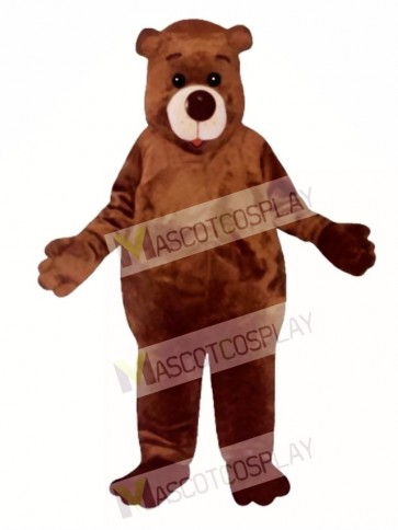 Cute Chubby Bear Mascot Costume