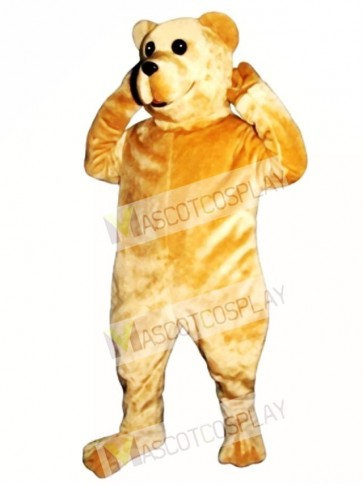 Cute Bruce Bear Mascot Costume