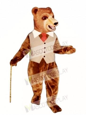 Barclay Bear Mascot Costume