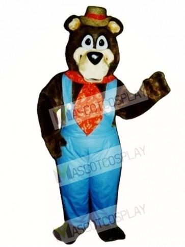 Cute Doggone Bear Mascot Costume