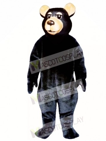 New Black Bear Mascot Costume
