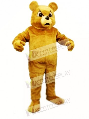 Cute Boxer Bear Mascot Costume