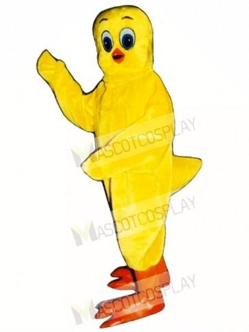 Cute Canary Bird Mascot Costume