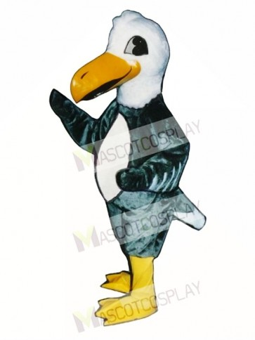 Cute Albatross Gooney Bird Mascot Costume