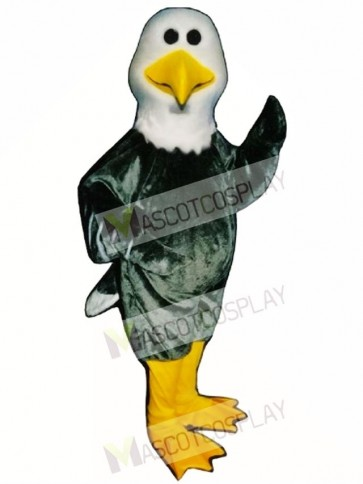 Cute Alan Albatross Mascot Costume