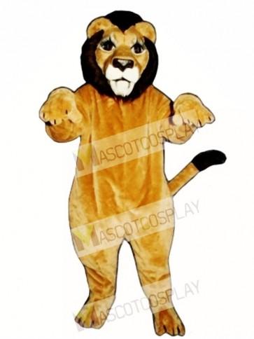 Cute Realistic Lion Mascot Costume