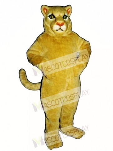 Cute Cougar Mascot Costume