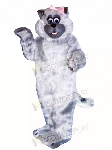 Cute Tabitha Cat Mascot Costume