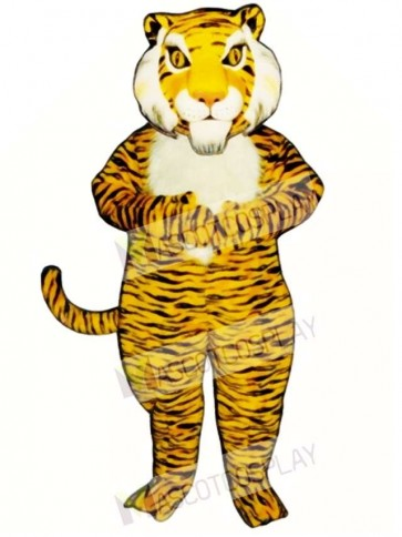 Cute Jungle Tiger Mascot Costume