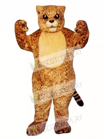 Cute Spotted Cat Mascot Costume