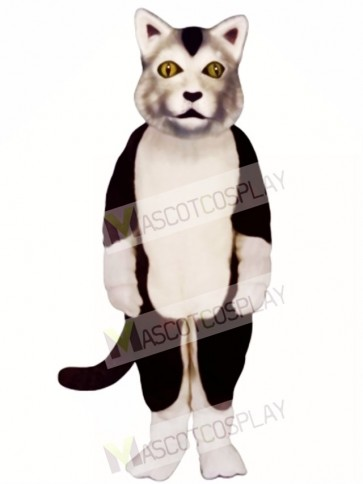 Cute Carlisle Cat Mascot Costume