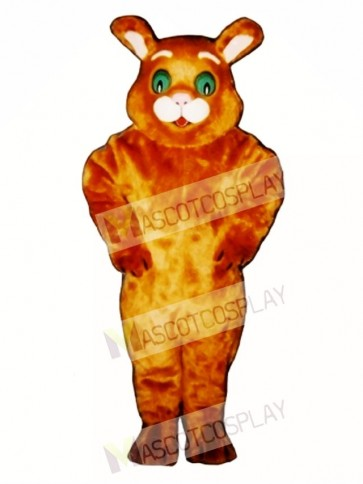 Cute Wide-Eyed Cat Mascot Costume