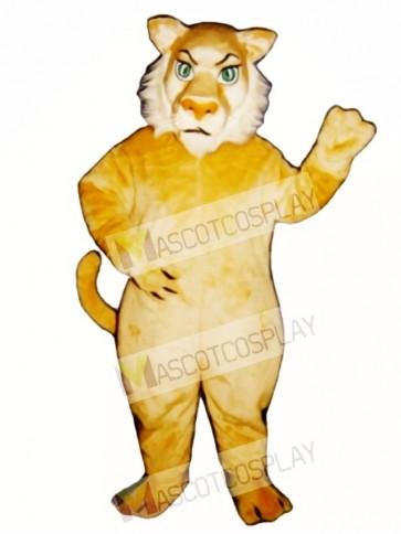 Cute Growly Lion Mascot Costume