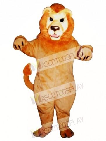 Cute Mean Lion Mascot Costume