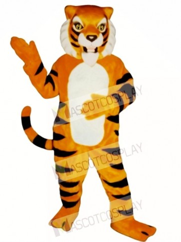 Cute Ferocious Tiger Mascot Costume