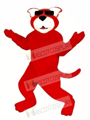 Cute Ready Red Cat Mascot Costume