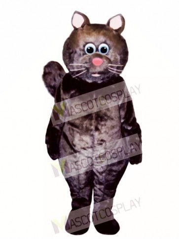 Cute Big Kitty Cat Mascot Costume