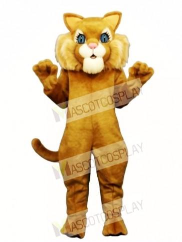 Cute Miss Boots Cat Mascot Costume