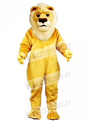 Cute Sleepy Lion Mascot Costume