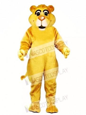 Cute Young Lion Mascot Costume