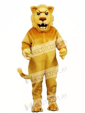 Cute Leslie Lion Mascot Costume