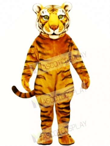 Cute Tiger Ted Mascot Costume
