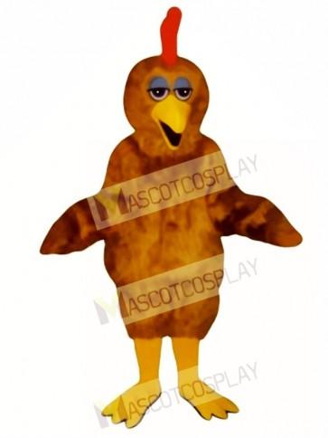 Cute Chester Chick Mascot Costume