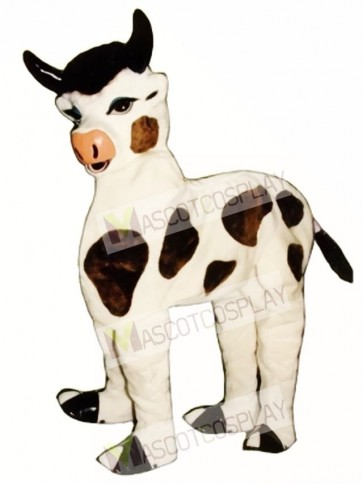 Two Man Cow Mascot Costume