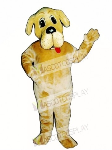 Cute Bernie Bernard Dog Mascot Costume