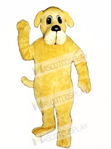 Cute Rah Rah Dog Mascot Costume