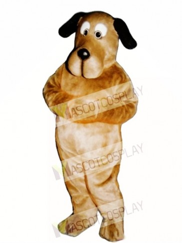 Cute Educated Dog Mascot Costume