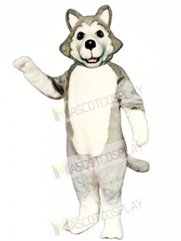 Cute Wolf Dog Mascot Costume