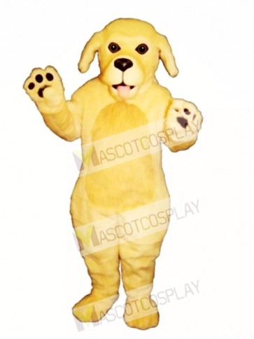 Cute Blonde Dog Mascot Costume