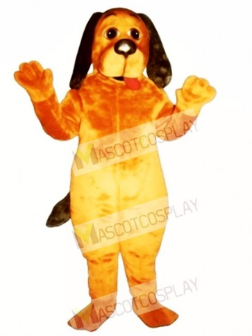 Cute Hound Dog Mascot Costume